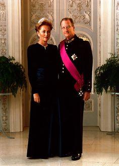 King Albert II and Queen Paola of Belgium