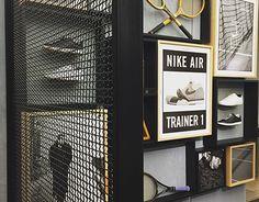 Showcase and discover creative work on the world's leading online platform for creative industries. Pop Display, Display Design, Gym Design, Salon Design, Nike Retail, Tennis Shop, Architecture Restaurant, Retail Store Design, Look Fashion