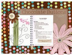 • chocolate buttons v.2 • - Digital Scrapbooking Ideas - DesignerDigitals