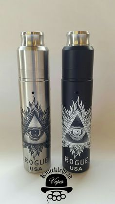 Rogue styled mods complete with Rda's are now available online knuckleheadvapes.com