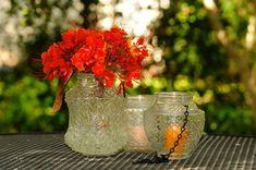 Wedding lantern or flower vases - lots of ways to use these mason jar alternative lights