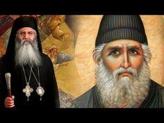 Άγιος Παΐσιος: Να λες, Μέγα το όνομα της Αγίας Τριάδος, Υπεραγία Θεοτόκε, σκέπε ημάς - Μ. Νεόφυτος - YouTube
