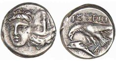 ANCIENT GREEK COIN (ISTROS-THRACE)