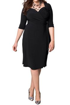 c026aaa0df Sapphyra Women s Plus Size Cut Out Neck Ruched Waist Vintage Cocktail Midi  Dress The uber flattering silhouette with feminine sweetheart neckline and  ruched
