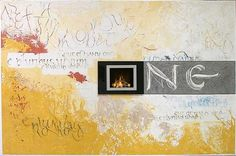 """""""E pluribus unum"""" (Out of many, one). Wall painting (Created in cooperation with Volker Thomas Wunderlich)"""