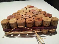 Salvamanteles de tapones vino