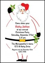 Creative Invitations Announcements Cards for All Occasions at CardsShoppe: Discount Holly Jolly Party Santa Christmas Invitat. Christmas Invitation Wording, Christmas Party Invitations, Invitation Cards, Invites, Christmas Holidays, Christmas Crafts, Holly Christmas, Christmas Ideas, Xmas