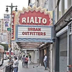Rialto theatre, Los Angeles  #signage #signagedesign #design #graphic #theatre #cinema #movie #travel #travelling #wanderlust #losangeles #la #downtown #rialto #photo #photography #photooftheday #picoftheday #summer #2015