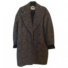 Topshop mixed color wool coat TOPSHOP (290 ARS) ❤ liked on Polyvore featuring outerwear, coats, jackets, coats & jackets, wool coats, woolen coat and topshop coats