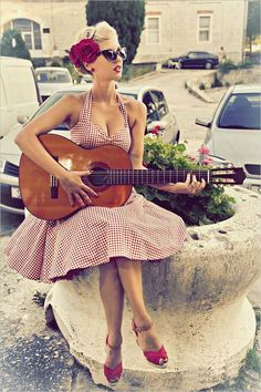 Red Gingham Dress Pin Up Dress Summer Dress Holiday Dress Party Dress Rockabilly Dress Dress Retro Swing Dress Sun Dress Plus Size Dress Robe vintage en vichy rouge Lady Mayra par LadyMayraVêtements Pin Up Dresses, Beach Dresses, Trendy Dresses, Summer Dresses, Dress Beach, Fashion Dresses, Pin Up Outfits, 1950s Dresses, Sun Dresses