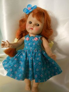 Lets Play! doll dress made for Ginny or Muffy doll