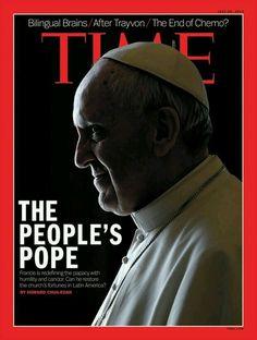 El Papa del pueblo, revista Times.