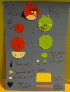 Angry Birds Punch Art