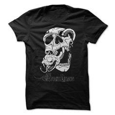 T-shirt Snake Demon