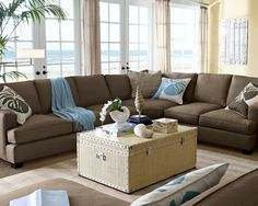 love the couch and the color....and the windows!