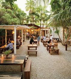 Hartwood - Mexican Idyll: Our Favorite Restaurant in Tulum  You'll find the beach restaurant of your dreams on an overgrown road in Tulum. It may lack walls, stoves, and a reservationist, but the fish is impeccably fresh and the open-fire cooking smart and soulful
