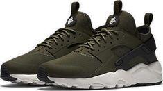 Nike Air Huarache Run Ultra Cargo Khaki 819685-300 Olive #Nike #AthleticSneakers