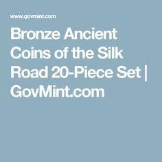 Bronze Ancient Coins of the Silk Road 20-Piece Set   GovMint.com