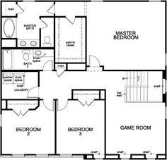 New Homes in Richmond, TX - Plan 2478, Second Floor