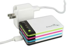 The EnerPlex Jumpr Stack are thin, lightweight portable power packs that can keep your small electronics charged up on to go.