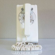 1963 Wall Phone White now featured on Fab.