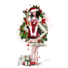 """""""MERRY CHRISTMAS!"""" by medamisra on Polyvore"""