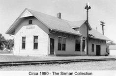 WALLACEBURG, Ontario - Canada Southern Railway depot - p Sirman
