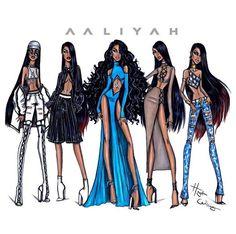 Hayden Williams Aaliyah Anniversary Collection ༺✿* I♥Aaliyah Forever*✿༻ ƸӜƷ ƸӜƷ ƸӜƷ ƸӜƷ ƸӜƷ ƸӜƷƸӜƷ . Arte Fashion, New Fashion, Trendy Fashion, Fashion Show, Fashion Outfits, Paper Fashion, Dress Fashion, Illustration Mode, Fashion Illustration Sketches