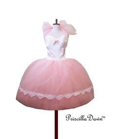SALE LAST ONE Alternative Wedding Dress Pink by priscilladawn