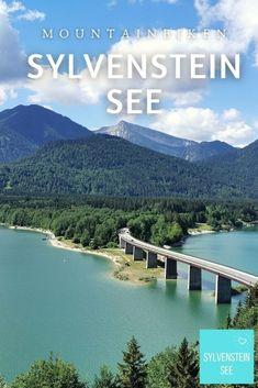 Im Karwendel MOUNTAINBIKEN AM SYLVENSTEINSEE, Bayern Highlights, Outdoor, Bike Rides, Summer Vacations, Family Vacations, Mountains, Outdoors, Luminizer, Hair Highlights