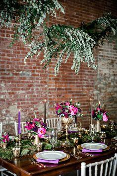 Украшение зала на свадьбу: Лофт   Свадебная невеста 2017