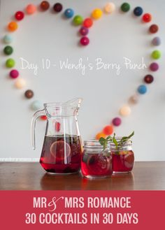 30 Cocktails in 30 Days – Day 10: Wendy's Berry Punch