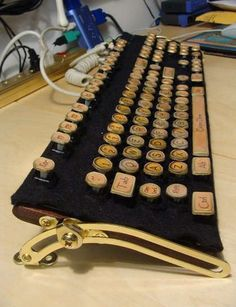 DYI Steampunk Keyboard