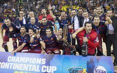 Otro título para la sección de hockey sobre patines del Barça. El FC Barcelona Lassa ha conquistado la Copa Continental de hockey sobre patines después tras vencer al Sporting de Portugal en el partido de vuelta