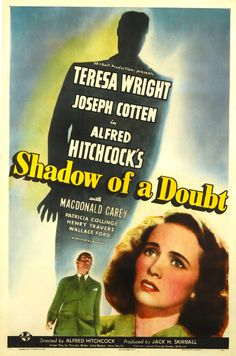 Shadow of a Doubt (1942), Alfred Hitchcock