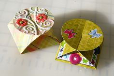 Paper & Hybrid Treat Boxes by Smiley-Scrap8