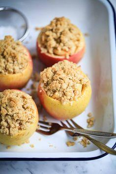 Rezept bester Apple Crumble im Apfel Zuckerzimtundliebe beste Apfelrezepte Apple crisp recipe in apple