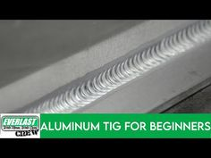 Today we have a beginners guide to TIG welding Aluminum. Mark Winchester from is going to show you the basics of stacking perfect alu. Tig Welding Aluminum, Metal Welding, Custom Metal Fabrication, Sheet Metal Fabrication, Mig Welding, Welding Art, Welding Ideas, Everlast Welders, Welding For Beginners