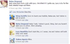 Fairy Tail on Facebook! — Requested by zaraihn I hope this is alright. It...