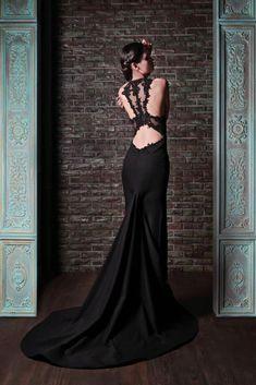Brautkleid der Woche ~ Back to black by Rami Kadi