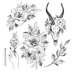 No photo description available. Rose Tattoos, Flower Tattoos, Body Art Tattoos, Dragon Tattoos, Geisha Tattoos Sleeve, Tattoo Sketches, Tattoo Drawings, Tattoos Realistic, Bild Tattoos