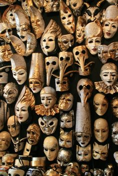 puppet heads and masks