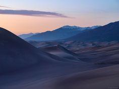 Dunes Dusk photo