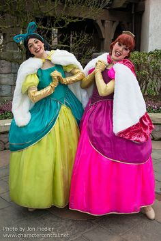 Feb 2014 - The crazy antics of Anastasia and Drizella
