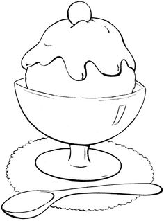 Tasty Donuts Coloring page Art