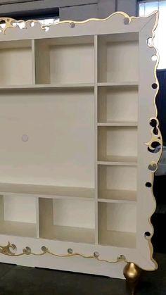 Tv Storage, Creative Decor, Picture Frames, Bookcase, Shelves, Videos, Home Decor, Smart Furniture, Shelving Brackets