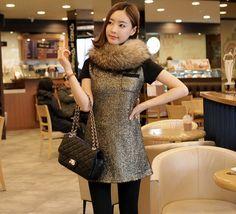 [Kimchi Style] Maronia Tweeded Dress