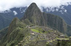 View of Machu Picchu from the City Wall