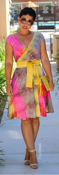 DIY Tie Dye Dress by Mimi G.