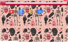 Monster Chrome Theme - for Halloween Halloween Themes, Happy Halloween, Facebook Layout, Internet Explorer, Google Chrome, Googie, Iphone Wallpaper, Seasons